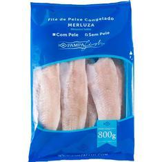 Filé de Merluza Sem Pele Pampa Fish 800g