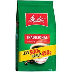 Café Tradicional Melitta Leve 500g Pague 450g