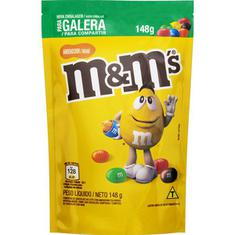 Confeito de Amendoim com Chocolate M&M's 148g