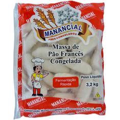 Pão Francês Fermentação Rápida Manancial 3,2kg
