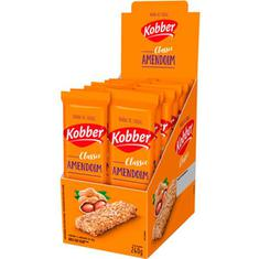 Barra de Cereal Sabor Amendoim Kobber 12x20g