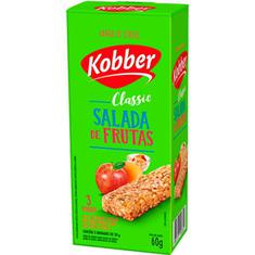 Barra de Cereal Sabor Salada de Frutas Kobber 3x20g