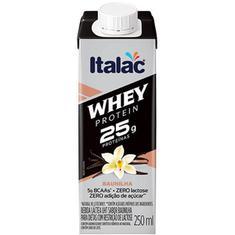 Bebida Láctea sabor Baunilha Whey Protein Italac 250ml