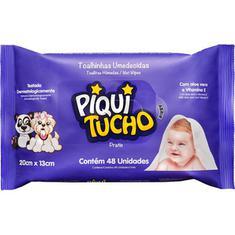 Toalha Umedecida Pratic Piquitucho 48un.