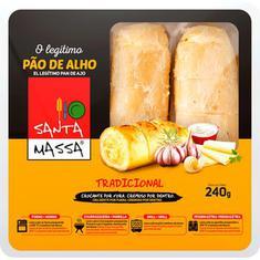 Pão de Alho Tradicional Santa Massa 240g