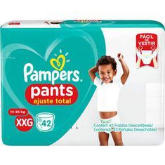 Fralda Pampers Pants Ajuste Total XXG 42 unidades