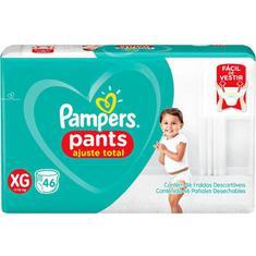 Fralda Pampers Pants Ajuste Total XG 46 unidades