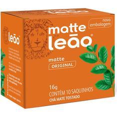 Chá Matte Natural Leão 10 Sachês