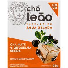 Chá Matte Groselha Negra Leão 10 Sachês