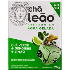 Chá Matte Gengibre e Limão Leão 10 Sachês