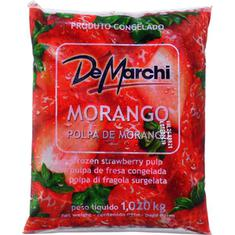 Polpa de Fruta Morango De Marchi 1,02kg