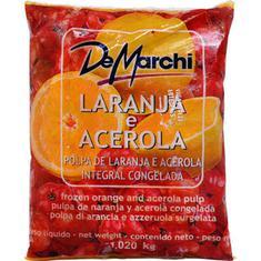 Polpa de Fruta Laranja com Acerola De Marchi 1,02kg