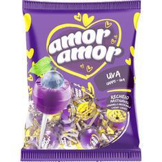 Pirulito sabor Uva Amor Amor Neugebauer 480g