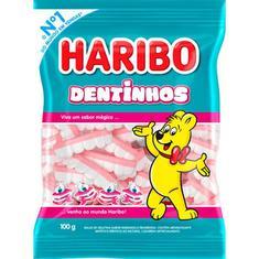 Bala de Gelatina Dentinhos Haribo 100g