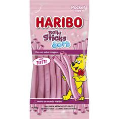 Bala de Gelatina Sticks Soft Tutti Haribo 80g