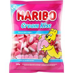 Bala de Gelatina Cream Kiss Haribo 100g