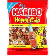 Bala de Gelatina Happy Cola Haribo 100g
