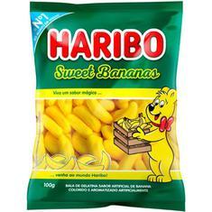 Bala de Gelatina Sweet Bananas Haribo 100g