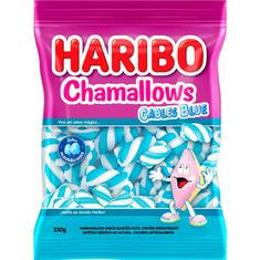 Marshmallow Chamallows Cables Blue Haribo 250g