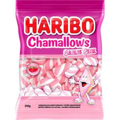 Marshmallow Chamallows Cables Pink Haribo 250g