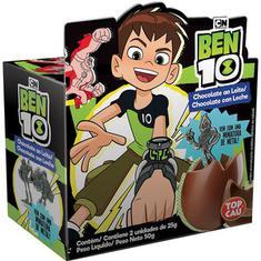 Chocolate Ben 10 Top Cau 2x25g