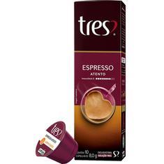 Cápsulas de Café Espresso Atento 3 Corações 8g
