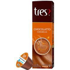 Cápsulas de Café Chocolatto Caramello 3 Corações 10x10,5g