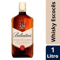Whisky Escocês Ballantines Finest 1L