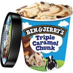 Sorvete de Pote Triple Caramel Chunk Ben & Jerry's 458ml