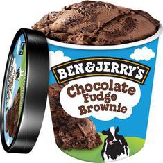 Sorvete de Pote Chocolate Fudge Brownie Ben & Jerry's 458ml