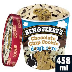 Sorvete de Pote Chocolate Chip Cookie Dough Core Ben & Jerry's 458ml