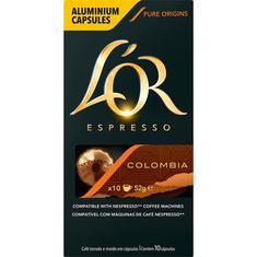 Cápsulas de Café Colombia Lor 10un.