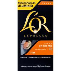 Cápsulas de Café Estremo Lor 10un.