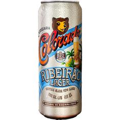 Cerveja Premium Ribeirão Lager Colorado 410ml