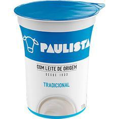 Bebida Láctea Integral Natural Paulista 170g