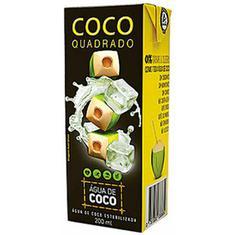 Água de Coco Quadrado 200ml