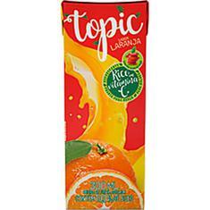 Bebida de Fruta Sabor Laranja e Maçã Topic 200ml