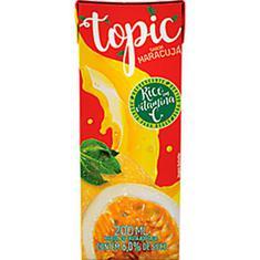 Bebida de Fruta Sabor Maracujá Topic 200ml