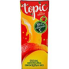 Bebida de Fruta Sabor Manga e Maçã Topic 200ml