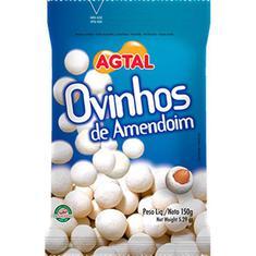 Ovinhos de Amendoim Agtal 150g