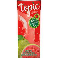Bebida de Frutas Sabor Goiaba e Maçã Topic 200ml