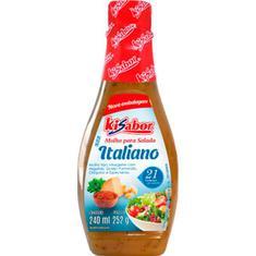 Molho para Salada Italiano Kisabor 240ml