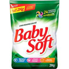 Lava Roupa em Pó Baby Soft 2kg