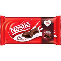 Chocolate Meio Amargo Nestlé 90g