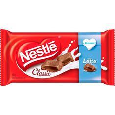 Chocolate Classic Ao Leite Nestlé 90g