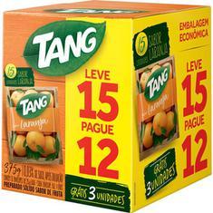 Refresco em Pó Sabor Laranja Tang Leve 15 Pague 12un.