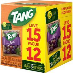 Refresco em Pó Sabor Uva Tang Leve 15 Pague 12un.