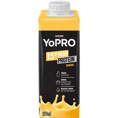 Bebida Láctea sabor Banana YoPRO Danone 250ml