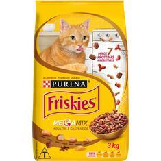 Alimento para Gatos Megamix Friskies 3kg