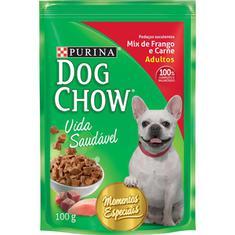 Alimento para Cães Sabor Frango e Carne Dog Chow 100g